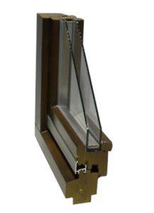 Деревянные окна из сосны (комбинированный брус)